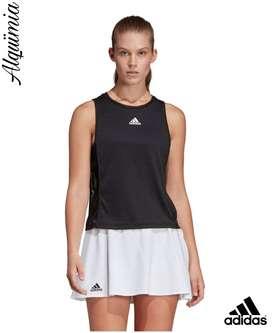 Adidas: Camiseta de Tirantes Escouade - Talla L.