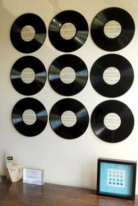 Vendo discos de vinilo para decorar