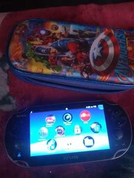 Vendo PS Vita fat programada