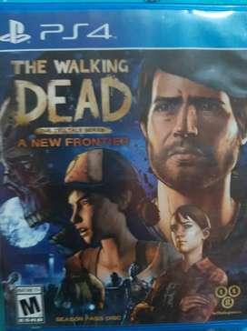 The walking dead ps4 juego