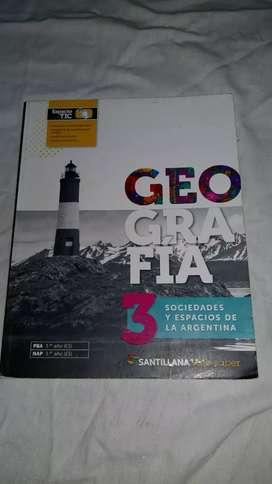 Libro de geografía de 3er año de secundaria