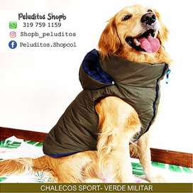 Nuevo Chaleco Impermeable Talla 3xl - Ropa Para Mascotas Perros
