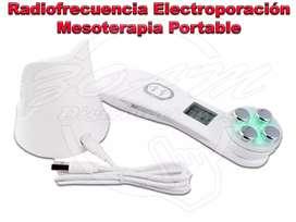 Radio frecuencia electroporación mesoterapia portable