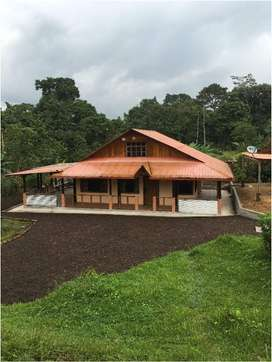Vendo Casa de 108 m² con Huerto de Frutales 1.800 m². Pedro Vicente Maldonado.
