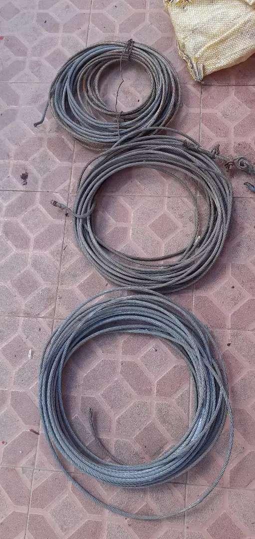 Cables de acero 6mm 0