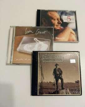 3 CDs de León Gieco. Rock Nacional