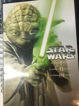 Trilogia de Star Wars Precuela(5000$)