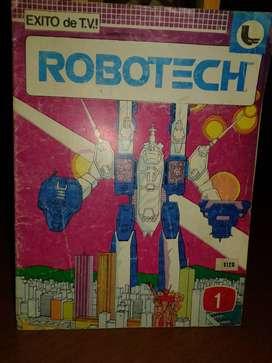 PIURA: REVISTAS ROBOTECH Nº1 y N°2 1986 PARA COLECCIONISTAS.