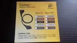 Cable litewear de implante coclear
