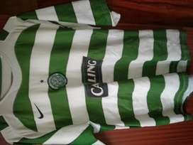Camiseta Celtic FC Original del año 2005 - 2007 Talle L/XL liga y UCL