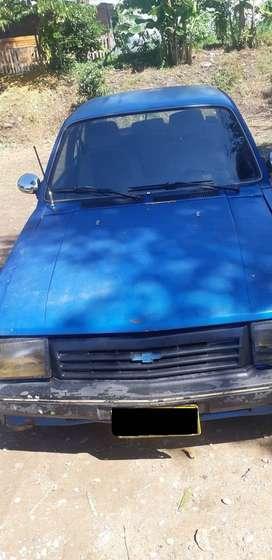 Chevrolet chevette azul modelo 89