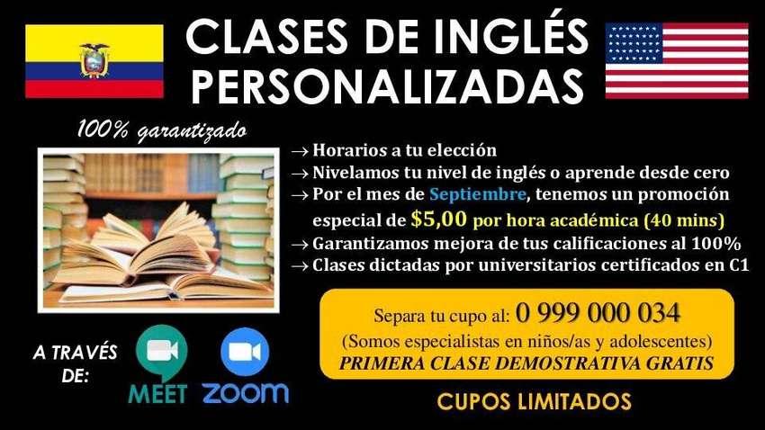 Clases de inglés personalizadas. 0