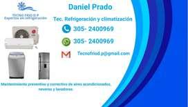 Técnico de sistemas de refrigeración y climatización