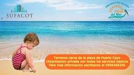 Terreno Urbanizado En Puerto Cayo! Entrada De 100 Y Cuotas Fijas  Crédito Sin Garante  SD2