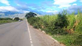 Venta de dos hectáreas de terreno con riego en Catamayo frente a la vìa a Cariamanga