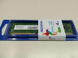 MEMORIA DDR3 ADATA 1600 4GB LIQUIDO SIN USO