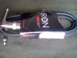 Cable Interpedal Kwc Iron 292 plug-plug 1M Neutrik