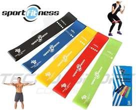 Vendo bandas elásticas cerradas marca sport fitness