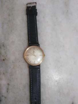 RADO PLAQUE ORO 14K CUERDA SUIZO ORIGINAL AS1538 JOYA