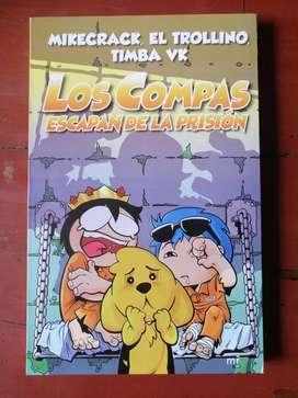Libro Los Compas Escapan De La Prisión / Los Compas Y El Diamantito Legendario