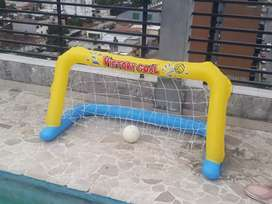 Arco water polo inflable.