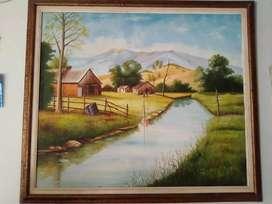 Pintura de un cuadro