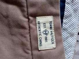 Tommy Hilfiger pantalón drill talla 34x32
