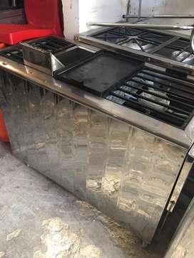 Estufa plancha fogones freidora