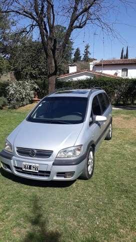 Chevrolet Zafira 2005 7 ASIENTOS  GNC NAVEGADOR DE REGALO