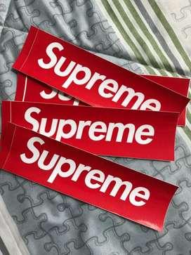 Stickers Supreme Original Size