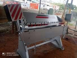 Dobladora de tol de 1.50 mtr cap de 2 m.m con transporte y garantía.