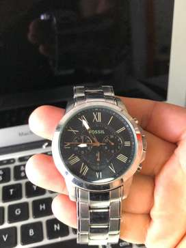 Reloj FOSSIL CRONO HOMBRE ACERO INOXIDABLE original
