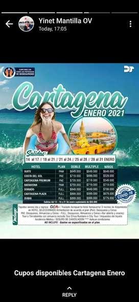 Promo Cartagena en Enero