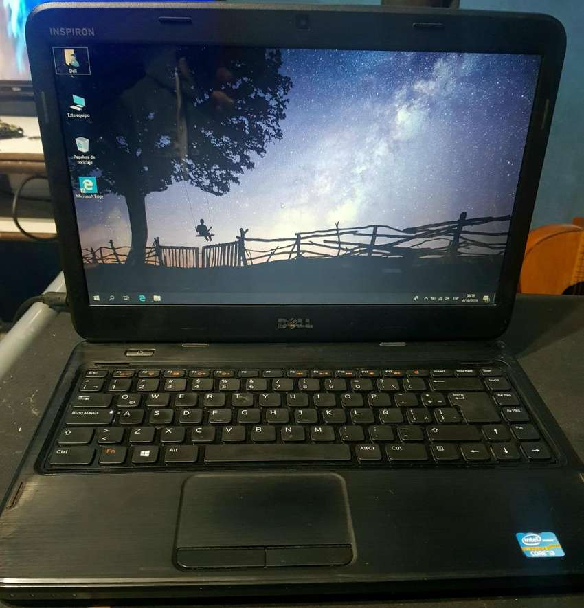 Notebook Dell Intel Core i3 - 6GB - Bateria NUEVA - Garantia - Envio gratis - Cuotas 0