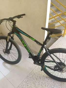 Bici 27'5 talla m frenos hidráulicos