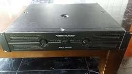 Vendo planta american audio 1500