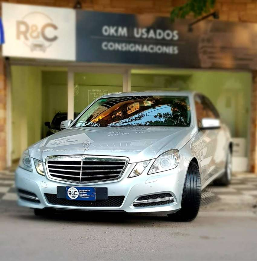 Mercedes Benz E250 CGI Blue Efficiency '12 - 100.000km - Impecable!!