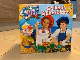 Crea Galletas y monedas de chocolate CefaCheff
