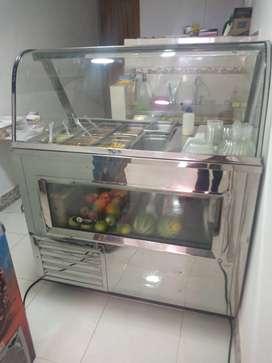 Vendo vitrina para ensaladas de frutas
