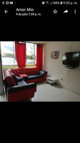 Vendo hermoso  apartamento en el conjunto residencial callejuelas  piedecuesta con gimnasio, piscina, sauna, turco.
