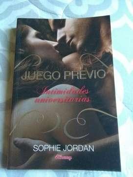 Juego Previo Intimidades Universitarias Sophie Jordan . libro perfecto