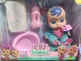 Muñecas baby cray NUEVAS