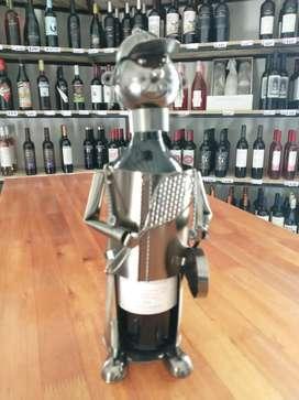 Porta vino artesanal