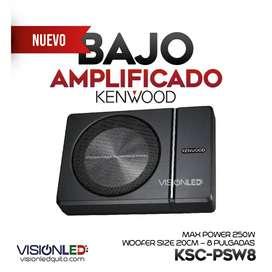Kenwood Potente Bajo Subwoofer Amplificado