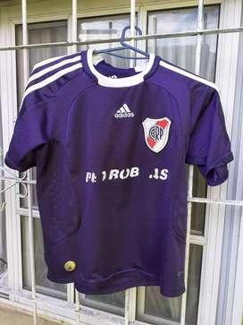 Camiseta River Petrobras niños violeta