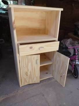 Mueble para microonda y estante