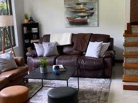 Sofa Reclinable de 3 Puestos