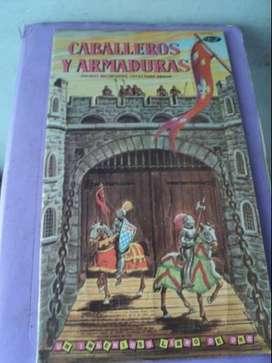 Antiguos soldaditos tipo Cavic Caballeros Medievales