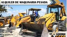 ALQUILER DE MAQUINARIA, GALLINETA, RETROEXCAVADORA, VOLQUETAS, EXCAVADORA, MINIEXCAVADORA, RODILLO COMPACTADOR.