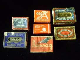 Colección de 7 cajas de plumas caligrafía vacías / Maxim Nord
